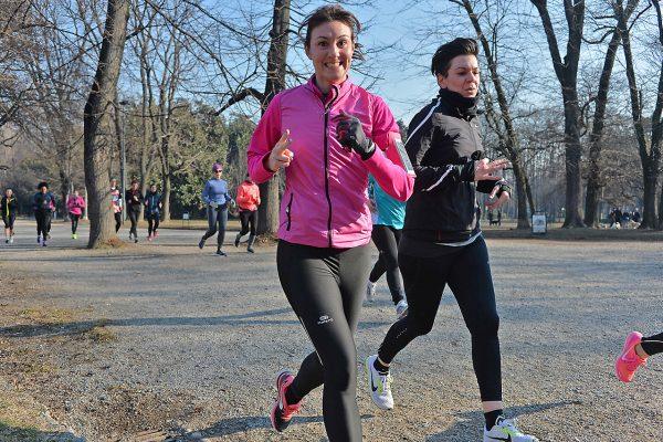 Foto  LaPresse/  Gian Mattia D'Alberto21-01-2017, MilanoRun4menella foto: la prima giornata di Run4me