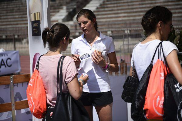 Foto LaPresse - Marco Alpozzi17 06 2017 Milano ( Italia )SportLierac Beauty Run 2017, la corsa dedicata alle donne.Nella foto: Villaggio, LieracPhoto LaPresse - Marco AlpozziJune 17, 2017 Milan ( Italy )sportLierac Beauty Run 2017, the race dedicated to women.in the pic: Villaggio