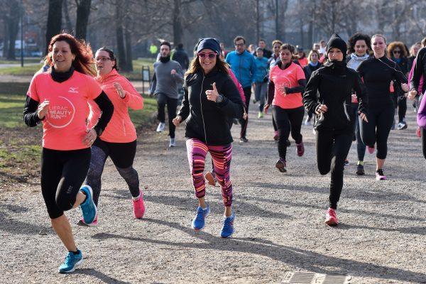 Foto Piero Cruciatti / LaPresse 20-01-2018 Milano, Italia Sport Run4Me - Road to Lierac Beauty Run  Nella foto: Run4Me - Road to Lierac Beauty Run  Photo Piero Cruciatti / LaPresse 20-01-2018 Milan, Italy Sport Run4Me - Road to Lierac Beauty Run  In the photo: Run4Me - Road to Lierac Beauty Run