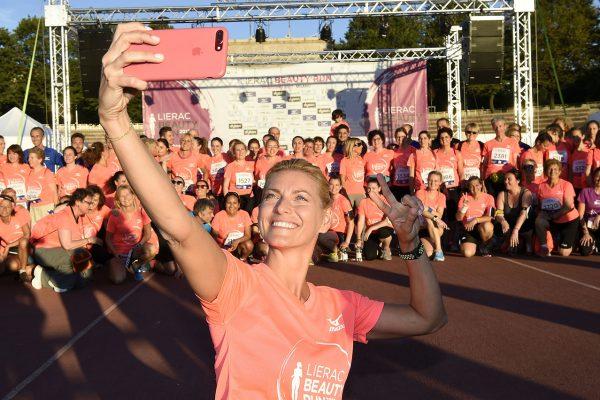 Foto LaPresse - Fabio Ferrari17 06 2017 Milano ( Italia )SportLierac Beauty Run 2017, la corsa dedicata alle donne.Nella foto:durante la manifestazione. Federica Fontana