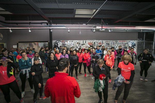 Foto LaPresse -Stefano De Grandis10/03/2018  Milanoallenamento run4me per city marathon