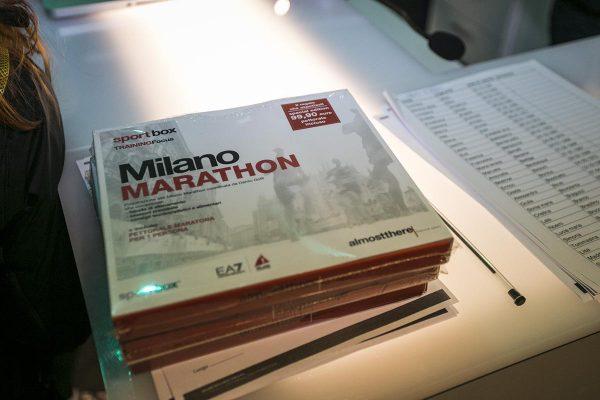 Foto LaPresse -Stefano De Grandis 10/03/2018  Milano  allenamento run4me per city marathon