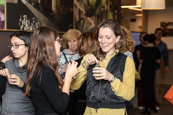 Foto LaPresse - Ermes Beltrami 17/05/2018 Milano Evento Lierac Maison Alès Groupe in Largo Donegani 2, Milano .
