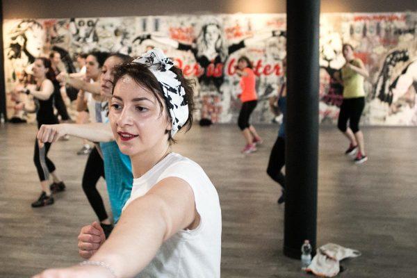 Foto LaPresse/Stefano De Grandis12/05/18 MilanoAllenamento Lierac per Beauty Run