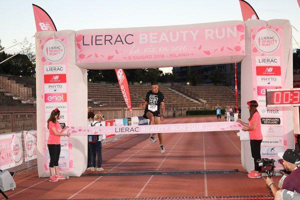 Foto LaPresse - Ermes Beltrami 09/06/2018 Milano Lierac Beauty Run 2018.Arena Di MilanoPrimo uomo 10km