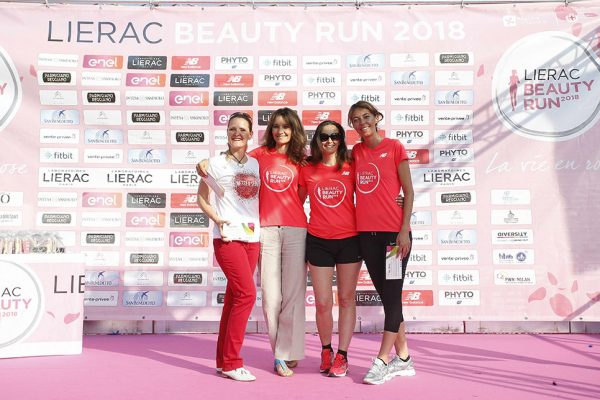 Foto LaPresse - Spada09 Giugno 2018 - Arena Civica , Milano (Italia)  Lierac Beauty Run 2018 Sport Nella foto: presentazione crew Photo LaPresse - SpadaJune 09  , 2018 Milan  (Italy )  Sport Lierac Beauty Run 2018 In the pic: crew presentation