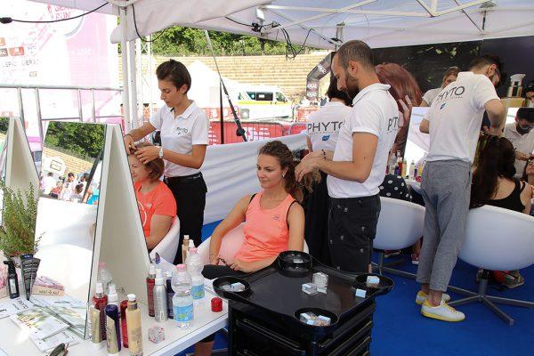 Foto LaPresse - Ermes Beltrami 09/06/2018 Milano Lierac Beauty Run 2018.Arena Di Milano